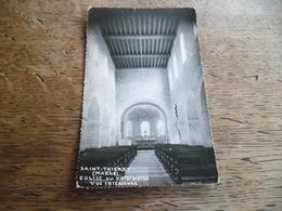 CPM Photo De Saint Thierry - Eglise Du XIIème Siècle, Vue Intérieure - Daté 1960 - Autres Communes