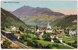 FIESCH VS 1920 Mit Furkabahn - VS Valais