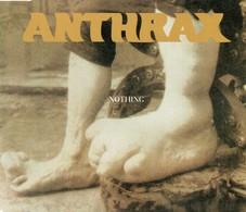 Anthrax Nothing Single CD #1 - Hard Rock & Metal