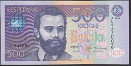 Estonia 500 Krooni 1996 P80 UNC - Estonie