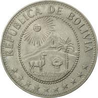 Monnaie, Bolivie, 50 Centavos, 1974, TTB, Nickel Clad Steel, KM:190 - Bolivia