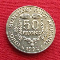 West African States 50 Francs 1992 FAO F.a.o.  Africa Afrika Afrique UNCºº - Monnaies