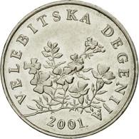 Monnaie, Croatie, 50 Lipa, 2001, TTB+, Nickel Plated Steel, KM:8 - Croatia