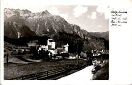 Schloss Nauders In Tirol Mit Piz Mondin * 16. 7. 1956 - Nauders