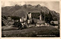 Schloss Nauders Mit Piz Mondin (242) * 28. 8. 1925 - Nauders