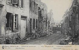 CPA - Verdun - Rue Du  Piny - Bomardé Guerre 1914-15-16. - Verdun