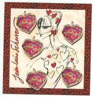 Valeur Faciale -20% : Saint-Valentin - Coeurs - Jean-Louis Scherrer - 2006 - Y&T BF93 - Sheetlets