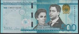 Dominicana 500 Pesos 2015 Pnew UNC - Dominicaine