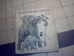 Live Jeunesse  Illustré  De 1933  LES PETIS ET LES GRANDS Album De Pere Castor Edition Flamarion - Collection Lectures Et Loisirs