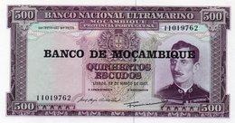 MOZAMBIQUE=1967      500  ESCUDOS    P-118   O/P   UNC - Mozambique