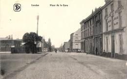 Landen - Place De La Gare (animée, Georg Stilke, Hôtel De La Hesbaye) - Landen