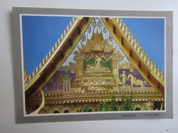 Pavillion Of Pratenang Throngtam At Wat Benchamabopit (The Marble Temple), Bangkok. Phornthip Phatana B489 - Thailand