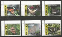 NIUAFO'OU - MNH - Animals - Insects - Butterflies 2015 - 2016 - Schmetterlinge