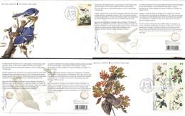J) 2004 CANADA, BIRDS, SET OF 2 FDC - Argentina