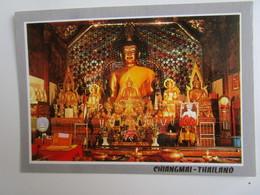 Principal Buddha Image Of Phratat Doi Sutep Temple, Chiang Mai. Phornthip Phatana C209 - Thailand