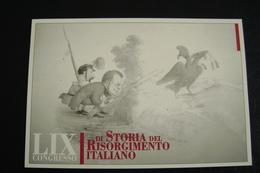 Congresso Di Storia Del Risorgimento Italiano 1998   L'Aquila  Teramo  FDC    FIRST DAY  PREMIER JOUR  MAXIMUM - Francobolli (rappresentazioni)