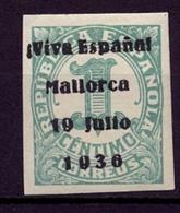 LOCALES PATRIÓTICOS , PALMA DE MALLORCA , ED. 1 * - Emisiones Nacionalistas