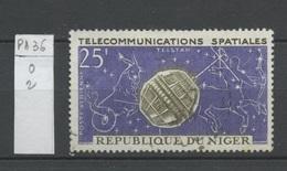 Niger Poste Aérienne 1964 Y&T N°PA36 - Michel N°59 (o) - 25f Satellite Telstar - Niger (1960-...)