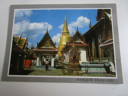 Bangkok. A Part Of Wot Phra Keo, Tourists Know As Temple Of Emerald Buddha.Phornthip Phatana D219 - Thaïlande