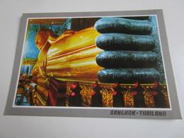 Reclining Buddha At Wat Pho, Bangkok. Phornthip Phatana 1195 - Thailand
