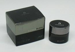 """Miniature De Parfum - AIGNER """"Black"""" Man - Eau De Toilette 5ml - Modern Miniatures (from 1961)"""