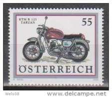"""Österreich 2006: """"Motorräder"""" Postfrisch (siehe Scan/Foto) - 1945-.... 2. Republik"""
