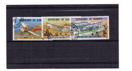 EDY 856 - GIBUTI , 3 Valori Usati A Tema AERO CLUB - Gibuti (1977-...)