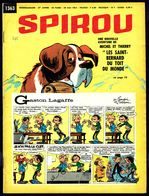 """SPIROU N° 1363 -  Année 1964 -  Couverture """"GASTON"""" De FRANQUIN. - Spirou Magazine"""