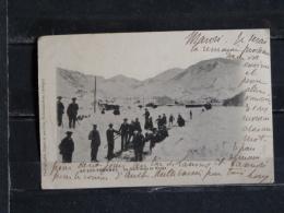 Z26 - 09 - Ax-les-Thermes - La Gare Dans La Neige - Edition Faure - 1902 - Ax Les Thermes