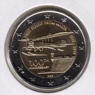 @Y@    Malta   2 Euro Commemorative 2015  UNC   Eerste Vlucht - Malta