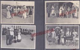 Archive Prisonnier Guerre Sergent Roger P. Oflag IV Elsterhorst Fête Des Provinces * Lettre Photos Très Rare Pétain - 1939-45