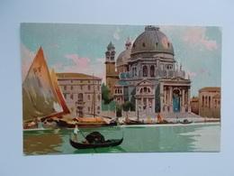 CPA -  VENEZIA -  Paintings Of Venice On Postcard , Original Old Cards - Venezia (Venice)