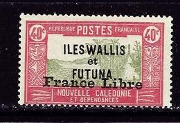 Wallace And Futuna 105 NH 1941 Overprint - Wallis And Futuna