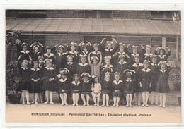 CPA- MOMIGNIES ( Belgique) Pensionnat Ste-Thérèse- Education Physique,4e Classe- 2scans - Momignies