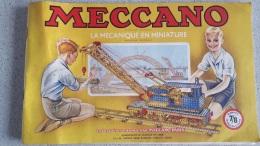 CATALOGUE MECCANO LA MECANIQUE EN MINIATURE  MANUEL 7/8  PARFAIT ETAT 78 PAGES - Meccano