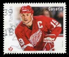Canada (Scott No.2945 - Grands Attaquants / Hockey / Great Forwards) (o) - 1952-.... Règne D'Elizabeth II