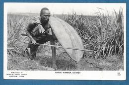 UGANDA NATIVE WARRIOR KHARTOUM 1954 - Uganda