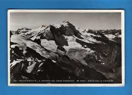 Valle D'Aosta - Cogne - Il Gruppo Del Gran Paradiso Visto Dalla Grivola.  No Viaggiata. Vedi Descrizione - Altre Città