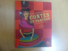 Contes En Partage Jean-Jacques Fdida Illustrés Par Aurélia Fronty Partage Didier Jeunesse - Bücher, Zeitschriften, Comics