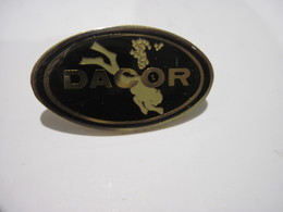 PINS  DACOR PLONGEE SOUS MARINE T.B.E. - Diving