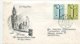MATASELLO UNITED NATIONS INTERNATIONAL COURT OF JUSTICE 1979 NACIONES UNIDAS  SOBRE FDC CIRCULATED  -LILHU - Postzegels