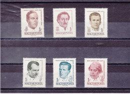 HONGRIE 1961 Célébrités Yvert 1411-1412D NEUF** MNH - Hongrie