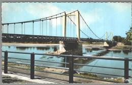 CPSM 58 - Cosne Sur Loire - Le Pont Sur La Loire - Couleur - Cosne Cours Sur Loire