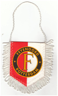 Fanion De Club Hollandais : Club Feynoord Rotterdam. Banner. Pennant. Banderín - Habillement, Souvenirs & Autres