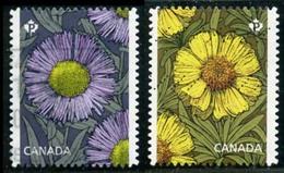Canada (Scott No.2979-80 - Marguerite S/ Daysies) (o) - 1952-.... Règne D'Elizabeth II