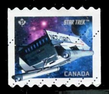 Canada (Scott No.2985 - Star Trek / Galileo) (o) Coil - 1952-.... Règne D'Elizabeth II
