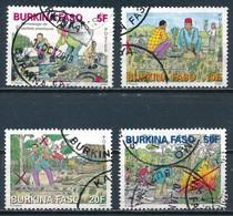 °°° BURKINA FASO - MI N°1970/73 - 2013 °°° - Burkina Faso (1984-...)