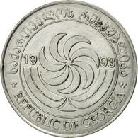 Monnaie, Géorgie, 20 Thetri, 1993, TB+, Stainless Steel, KM:80 - Géorgie