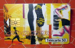 PHONECARD TELECARTE 50 SPORT JOGGING - France