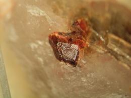* SPESSARTINE, Wendelberg, Haibach, Spessart, BRD * - Minerals